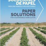 Agropaper en cultivo de pepino en invernadero